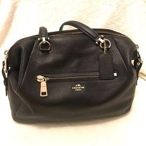 Coach Black Leather Purse | shoulder bag, satchel